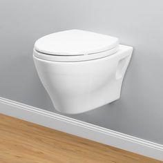 Buy Toto CT418FG#01 Aquia Wall Mounted Dual Flush Elongated 1-Piece Toilet   Riverbend Home
