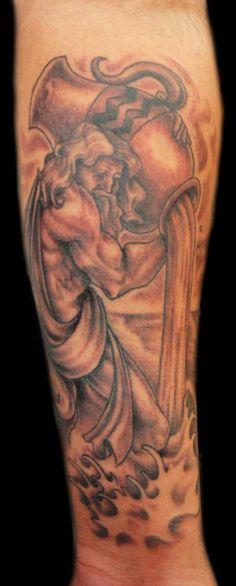 tatouage verseau tribal tatouage signe du zodiaque verseau pinterest tatouage verseau. Black Bedroom Furniture Sets. Home Design Ideas