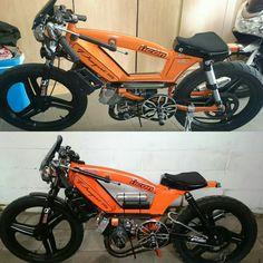 103 Evo Boukhtoukal Juice, moped chow art et mécanique.