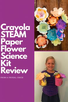 Crayola STEAM Paper Flower Science Kit Review- If you are considering the Crayola Paper Flower Science Kit check out this review before you purchase! Discount Online Shopping, Science Kits, Flower Petals, Paper Flowers, Coupons, Craft Projects, Check, Crafts, Manualidades
