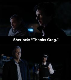 "The ending of ""The Final Problem"" was pretty damn special, just because Sherlock said this to Lestrade. 