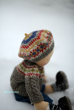 Ravelry: Friðarøy (hat) pattern by winterludes dolls