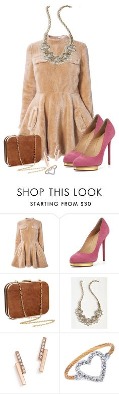 """""""Untitled #1368"""" by ally-624 ❤ liked on Polyvore featuring J.W. Anderson, Charlotte Olympia, ZoÃ« Chicco and Charriol"""