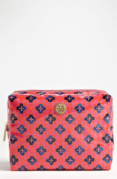 Tory Burch 'Brigitte - Large' Cosmetic Case | Nordstrom