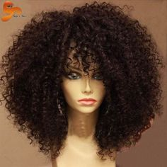 78.34$ Watch now - http://alig54.worldwells.pw/go.php?t=32721135459 - 8A Kinky Curly Full Lace Wigs Brazilian Full Lace Human Hair Wigs Afro Kinky Curly Glueless Full Lace Front Wigs With Baby Hair 78.34$