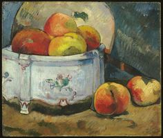 Paul Gauguin (French, 1948-1903),Still Life with Peaches, c. 1889. Oil on cradled panel,26 x 31.8 cm.