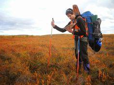Orientándonos en la tundra, fotografía de José Mijares