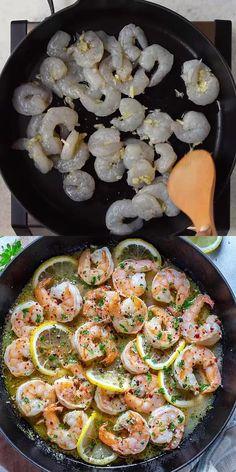 Shrimp Recipes For Dinner, Shrimp Recipes Easy, Easy Healthy Recipes, Healthy Cooking, Seafood Recipes, Low Carb Recipes, Diet Recipes, Vegetarian Recipes, Prawn Recipes