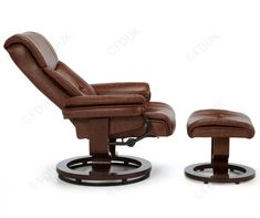 Moss Chestnut Leather Swivel Recliner Chair, shop from the wide range of recliner chairs available with fast home delivery at Furniture Direct UK. Swivel Recliner Chairs, Leather Recliner Chair, Furniture Direct, Furniture Sale, Living Furniture, Buy Moss, Ergonomic Kneeling Chair, Accent Chairs For Living Room, Chair Fabric