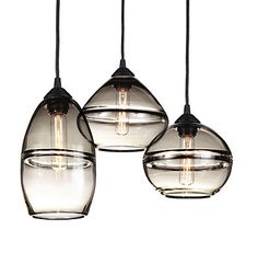 Hennepin Made Banded Pendant Sets - Pendants - Lighting - Room & Board  Love these for over kitchen table