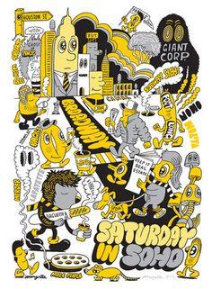 Saturday in Soho - #JeremyVille