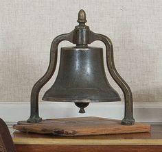 19thC ship's bell.
