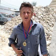 Sean Penn honored by Nobel Peace Prize laureates for humanitarian relief work in Haiti.