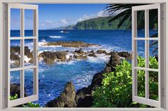 Huge 3D Window Exotic Beach View Wall Stickers Film Mural Art Decal Wallpaper | eBay www.ebay.co.uk2000 × 1333Search by image Huge-3D-Window-Exotic-Beach-View-Wall-Stickers-Film-Mural-Art-Decal-Wallpaper