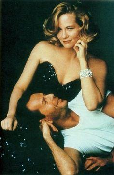 Bruce Willis & Cybill Shepherd:  Chemistry times two in Moonlightning