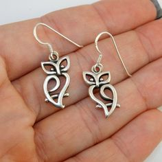 FashionJunkie4Life - Owl Earrings - 925 Sterling Silver, $22.00 (http://www.fashionjunkie4life.com/owl-earrings-925-sterling-silver/) Use coupon code PIN10 for 10% off your entire purchase and free shipping worldwide. #owls #owljewelry #Owlsjewelry #uniqueowls #sterlingsilver #silverjewelry #silverjewellery #silverowljewelry #925silver