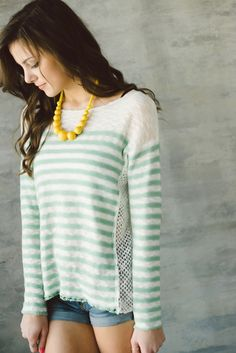 Piace Boutique - Sweetest Stripes Top, $42.99 (http://www.piaceboutique.com/sweetest-stripes-top/)