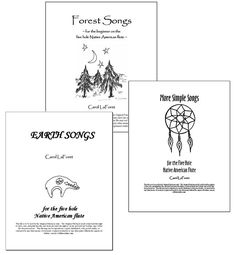 PDF files of 3 Song Books for 5 Hole Native American Flute,  59 songs  | Musical Instruments & Gear, Sheet Music & Song Books, Contemporary | eBay!