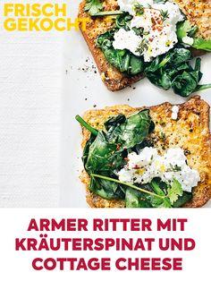 Kraut, Avocado Toast, Delicious Food, Brunch, Breakfast, Cilantro, Spinach, French Toast, Yummy Food