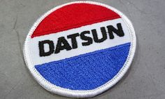 On my Etsy shop: #1970s #Vintage #Datsun #Patch #Nissan #Automobile #Gift  #thehartyhoca #buyitnow   https://www.etsy.com/listing/514998095/1970s-vintage-datsun-patch-nissan?utm_campaign=crowdfire&utm_content=crowdfire&utm_medium=social&utm_source=pinterest