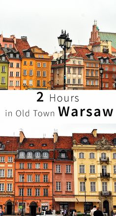 The Old Town Of Warsaw tells the story of a rebirth. It's a world heritage site & reflects upon Poland's sad history and how it survived everything.