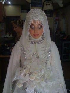 Muslim Bride, Wedding dress,hijab wedding fashion