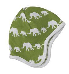 Pigeon Organics bonnet - Green elephant