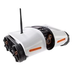 Rover App-Controlled Spy Tank with Night Vision – Mission possible !