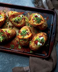 Poutine-Style Twice-Baked Potatoes Recipe on Food & Wine
