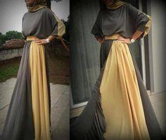 Amelena Designs an online store sells quality Modern abayas - Long sleeve Formal maxi dresses - Long Dress shirts – Tunics and Formal long Cardigans. Arab Fashion, Islamic Fashion, Muslim Fashion, Modest Fashion, Modest Wear, Modest Dresses, Modest Outfits, Maxi Dresses, Muslim Dress