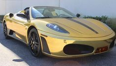 We apologise if this makes you throw up. But for those of you that like this gold wrapped Ferrari F430 Spider, hit the link to see more epic photos http://www.ebay.com/itm/Ferrari-430-Spider-2006-FERRARI-F430-SPYDER-FOR-1029-A-MONTH-WITH-25-000-DOWN-/221412176207?forcerrptr=true&hash=item338d31b14f&item=221412176207&pt=US_Cars_Trucks?roken2=ta.p3hwzkq71.bdream-cars