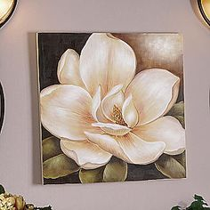 Magnolia Canvas Art from Seventh Avenue ®