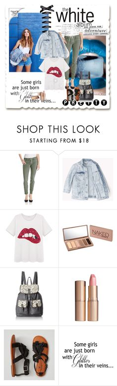 """""""school style"""" by mina-hasic ❤ liked on Polyvore featuring interior, interiors, interior design, home, home decor, interior decorating, Velvet by Graham & Spencer, Urban Decay, T-shirt & Jeans and Charlotte Tilbury"""