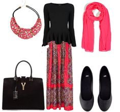 Hijab outfit combination