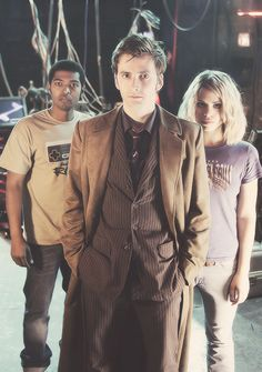 Ten, Mickey, and Rose-I miss these days