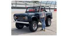 Eaton teams with NASCAR driver Ryan Blaney and Gateway Bronco to restore a classic SUV to benefit charity Ryan Blaney, Restore, Nascar, Multimedia, Charity, Benefit, Restoration, Monster Trucks, Wire