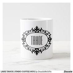 LAKE TAHOE JUMBO COFFEE MUG