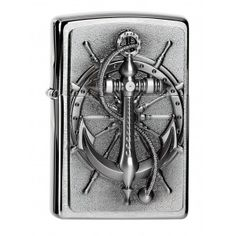 Zippo Lighter Nautical Anchor Emblem with or without accessories for Choice New OVP Anne Stokes, Cool Zippos, Zippo Collection, Cool Lighters, Cigar Lighters, Mens Toys, Emblem, Light My Fire, Smoking Accessories
