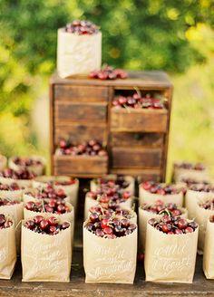 Wedding Favors, Wedding Ideas, unique Wedding Favors, Summer Wedding || Colin Cowie Weddings