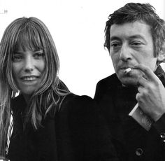 """I'd rather live on my own than live with a face that looks at me with the wrong eyes."" -Jane Birkin & Serge Gainsbourg"