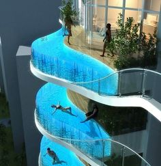 Mumbai, pool hotel.
