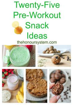 Twenty Five Pre-Workout Snack Ideas. Look no further for what to eat before your next workout! Great variety of delicious and nutritious snack recipes. Clean Eating Recipes, Clean Eating Snacks, Healthy Snacks, Healthy Recipes, Healthy Eats, Keto Recipes, Best Pre Workout Food, Post Workout Snacks, Snacks For Work