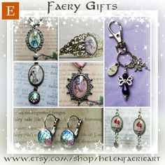 Yuletide Gifts in my Faery Etsy shop x