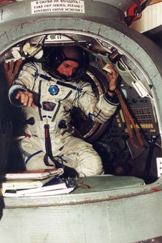 American businessman Dennis Tito, the world's first orbital space tourist, is seen training for his historic 2001 flight to the International Space Station. Tito launched in April 2001 aboard a Russian Soyuz spacecraft thanks to a 20 million dollar deal brokered by the Virginia-based firm Space Adventures.