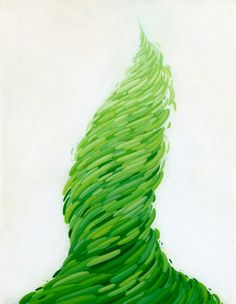 Funnel - acrylic on paper artwork by Brendan Monroe