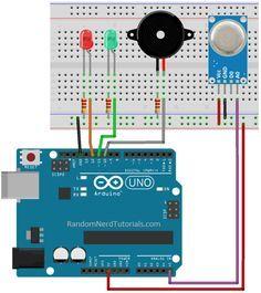 Smoke sensor for Arduino