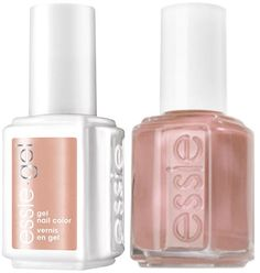 Essie Gel Members Only #5028 + Matching Lacquer Tea & Crumpets #325