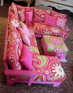 Reserved Listing for Elizabeth  Doll Living Room Furniture