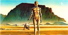 Star Wars Concept Art by Ralph McQuarrie