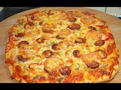 Pizza Tarifi | Evde Kolay Pizza Nasıl Yapılır? - YouTube